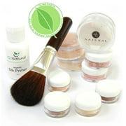 IQ Natural Mineral Makeup Starter Set-Medium