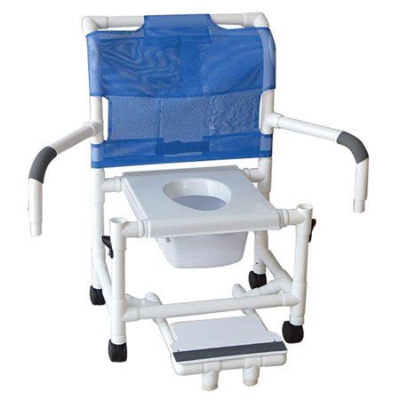 Awesome Mjm International 122 3Tw Vs Sfs Dda 10 Qt C Wide Deluxe Shower Chair With Vacuum Seat Sliding Footrest With Front Supports Dual Drop Arms And Slide Frankydiablos Diy Chair Ideas Frankydiabloscom