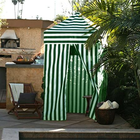 Apontus Striped Shower Changing Cabana Tent Patio Beach