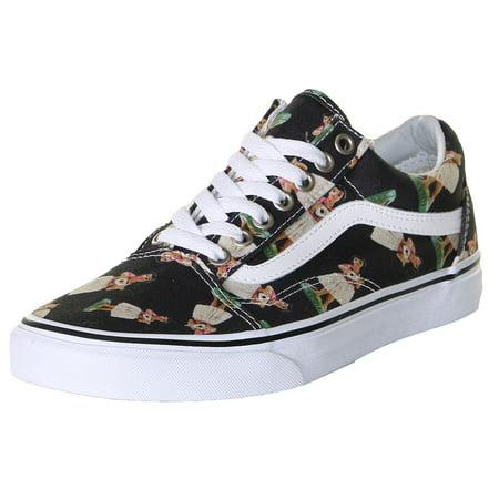 312c350a03ed Vans - Vans Unisex Old Skool Digi Hula Skate Shoes-Black True White ...