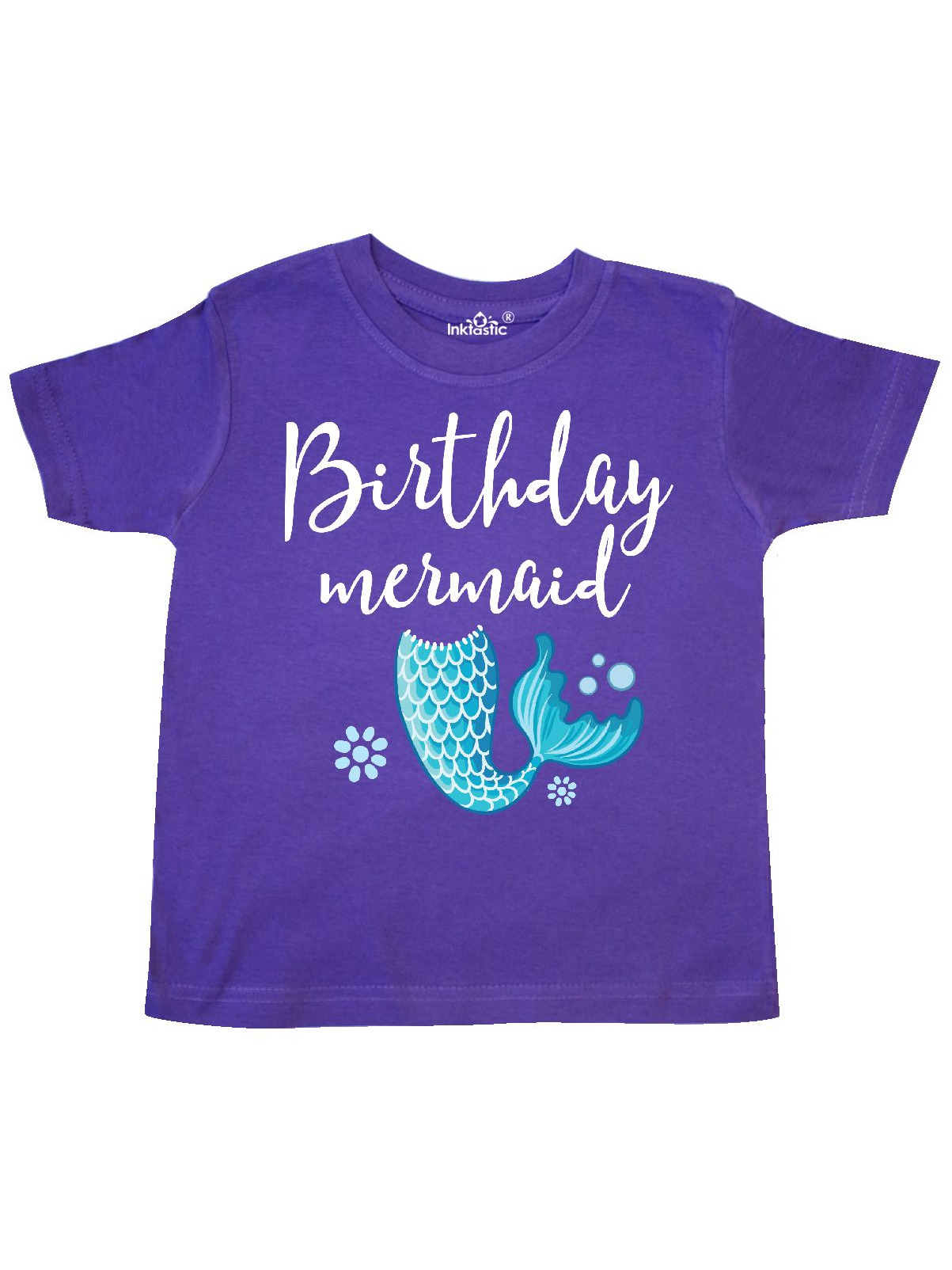 Birthday Mermaid Girls Party Gift Toddler T-Shirt