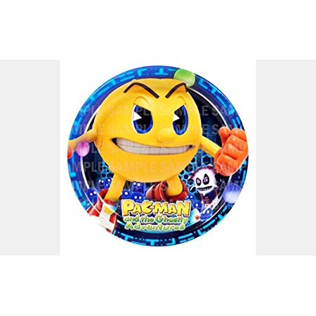 Personalized Round Bed - Pac Man and the Ghostly Adventure Edible Image Photo 8