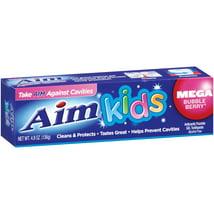 Toothpaste: Aim Kids