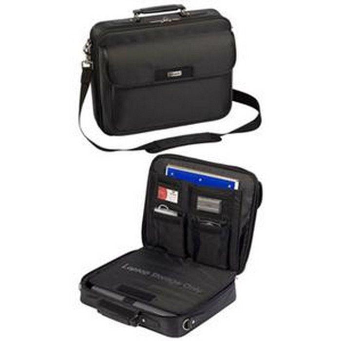 "Targus Tbc023us Zip- Thru Traditional Laptop Case 15.4"" Clamshell Nylon Black"