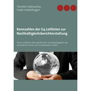 Kennzahlen der G4 Leitlinien zur Nachhaltigkeitsberichterstattung - eBook