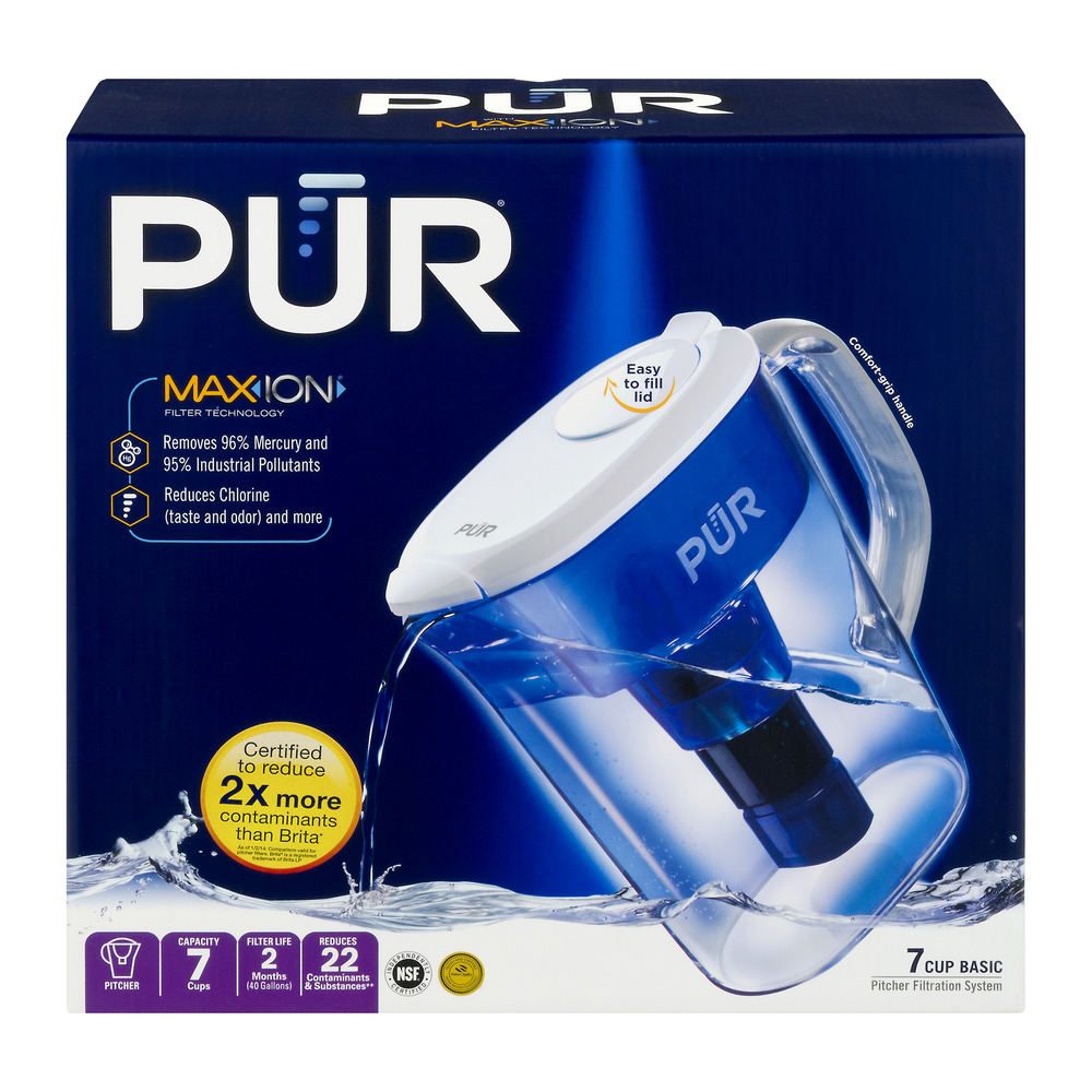 PUR Maxion Filter Technology Pitcher, 1.0 CT