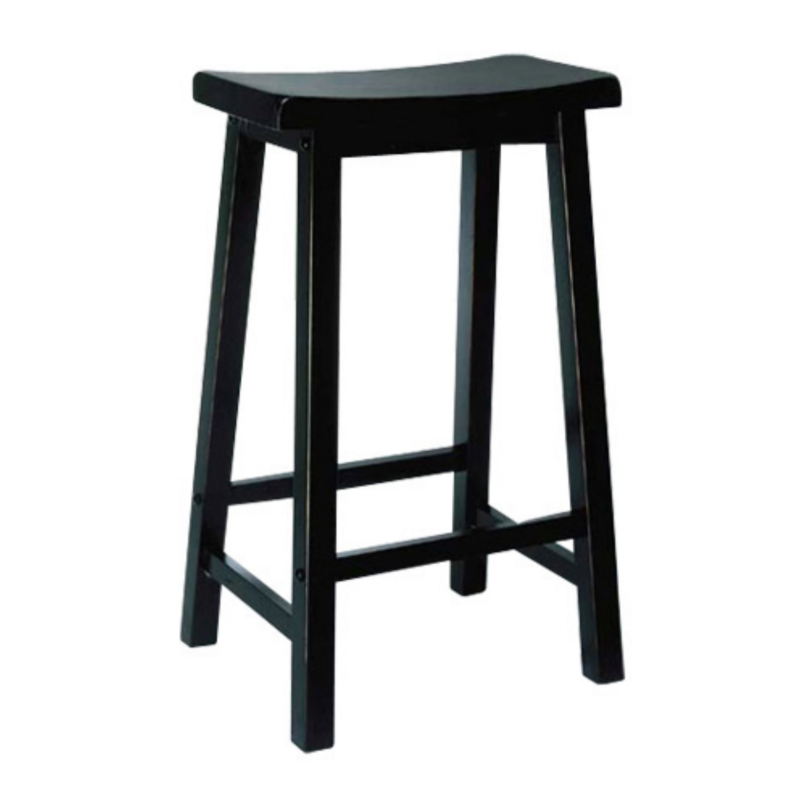 "Powell ""Antique Black"" with Sand Through Terra Cotta Bar Stool, 29"" Seat Height by Powell Furniture"