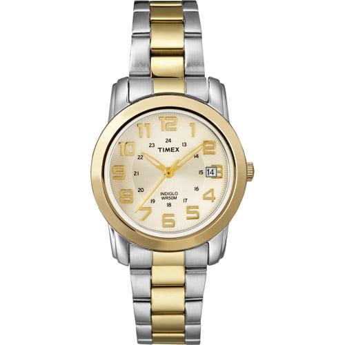 Timex Women's Sport Chic Watch, Stainless-Steel Bracelet
