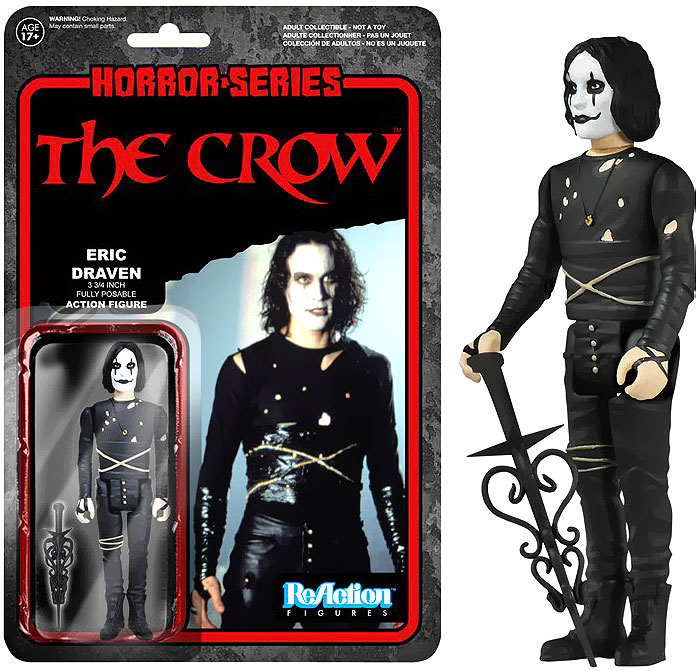 The Crow Eric Draven Funko Horror Series ReAction Figure