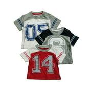 Sprockets Multi Number Cotton Short Sleeve 3 Pcs Pack T-Shirt Baby Boys