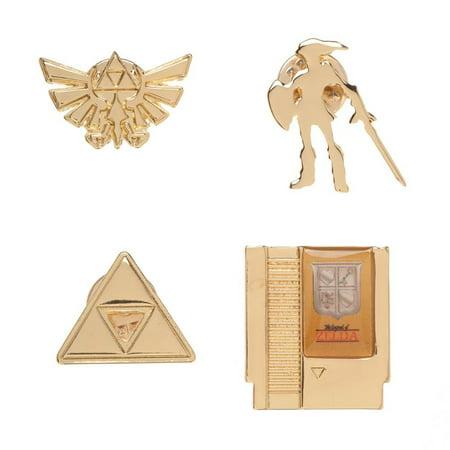 Funny Legend Of Zelda Pics (Nintendo The Legend of Zelda Lapel Pin Set of)