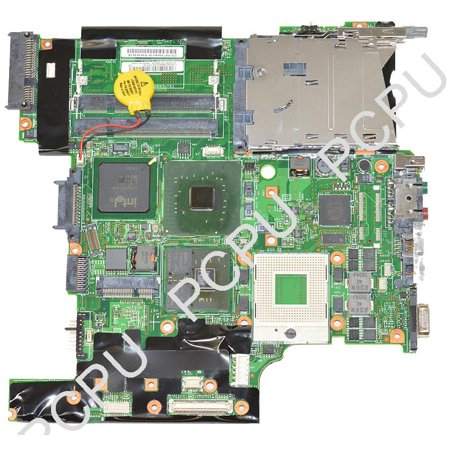 42T0161 Ibm Lenovo T60 T60p Intel Laptop Motherboard W  Ati 64Mb S478