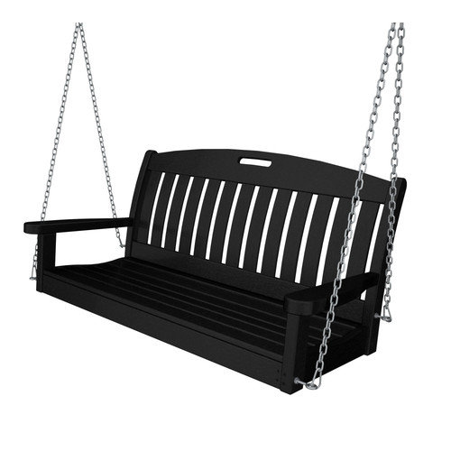 POLYWOOD Nautical Porch Swing