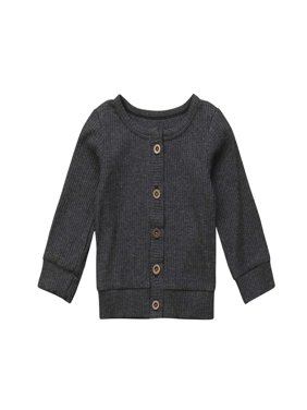 Knitted Cardigan Sweater O-Neck Baby Clothing Spring Autumn Kid Knitwear Coat