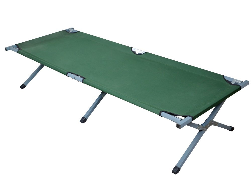 CALHOME Outdoor Portable Folding Cot Military Hiking Camping Sleeping Bed Fish Full Size by CALHOME