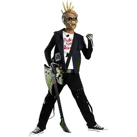 Punk Creep Child Halloween Costume - Punk Rock Halloween Costume Ideas