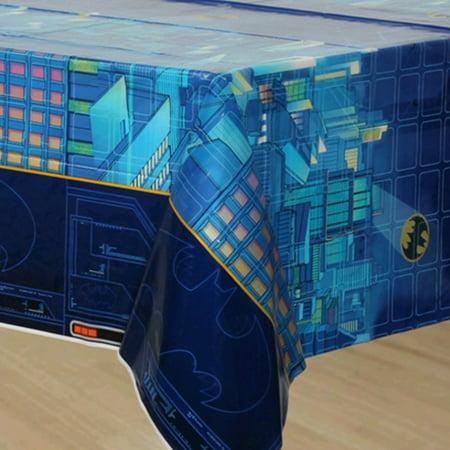 Batman Plastic Table Cover (1ct) (Batman Table)