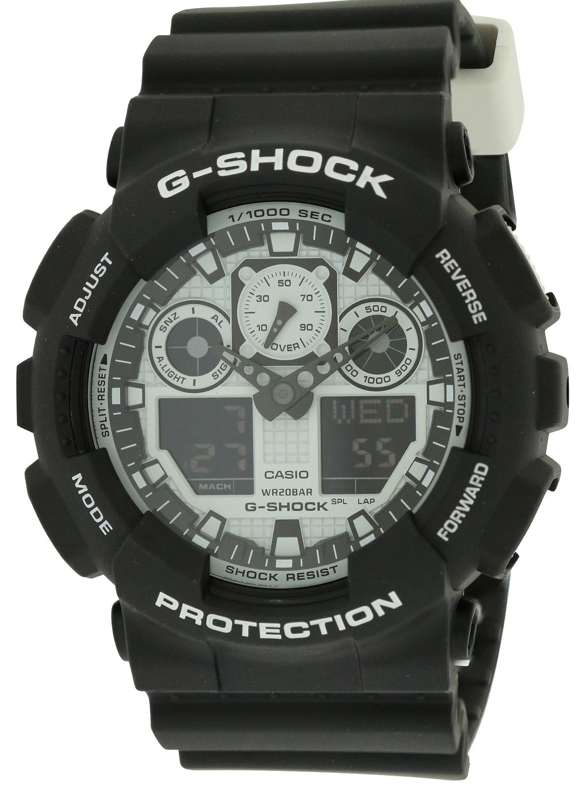 G-Shock Mens Watch GA100BW-1A