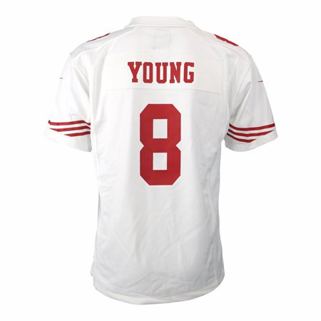 Steve Young San Francisco 49ers NFL Nike White Game Team Jersey For Youth for $<!---->