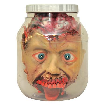 Halloween Jars Crafts (Fun Express - Head In Jar for Halloween - Craft Supplies - Scrapbooking - Albums - Halloween - 1)