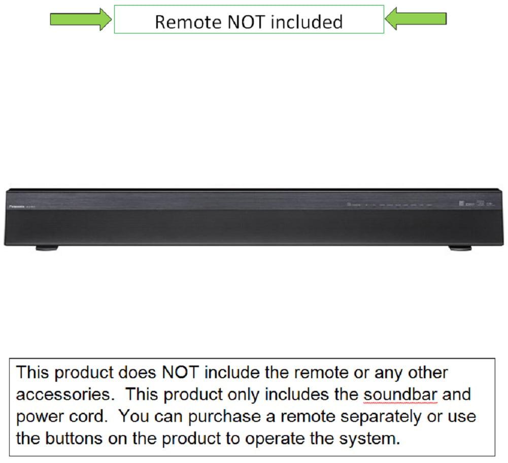 Panasonic 2.1-Channel 120W Bar Bluetooth Soundbar with Built-In Subwoofer, Black, SC-HTB70... by Panasonic