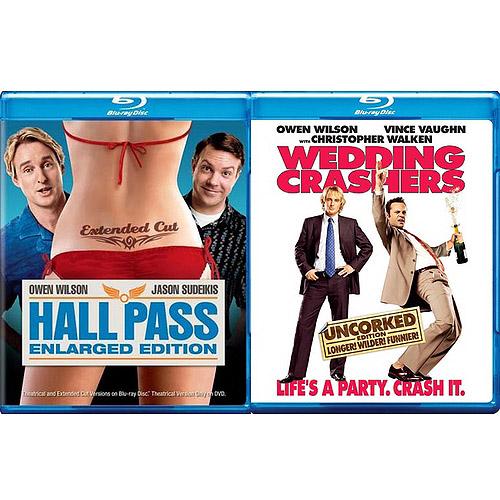 Hall Pass / Wedding Crashers (Blu-ray) (Widescreen)