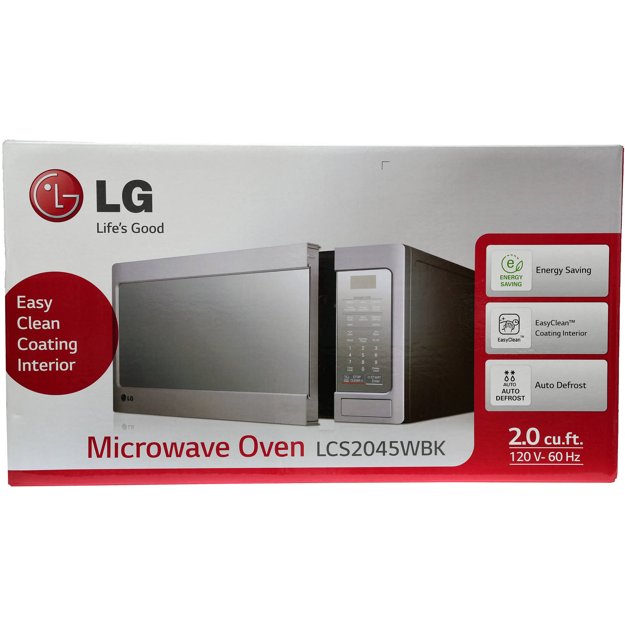 LG 2.0 cu ft Countertop Microwave Oven with EasyClean