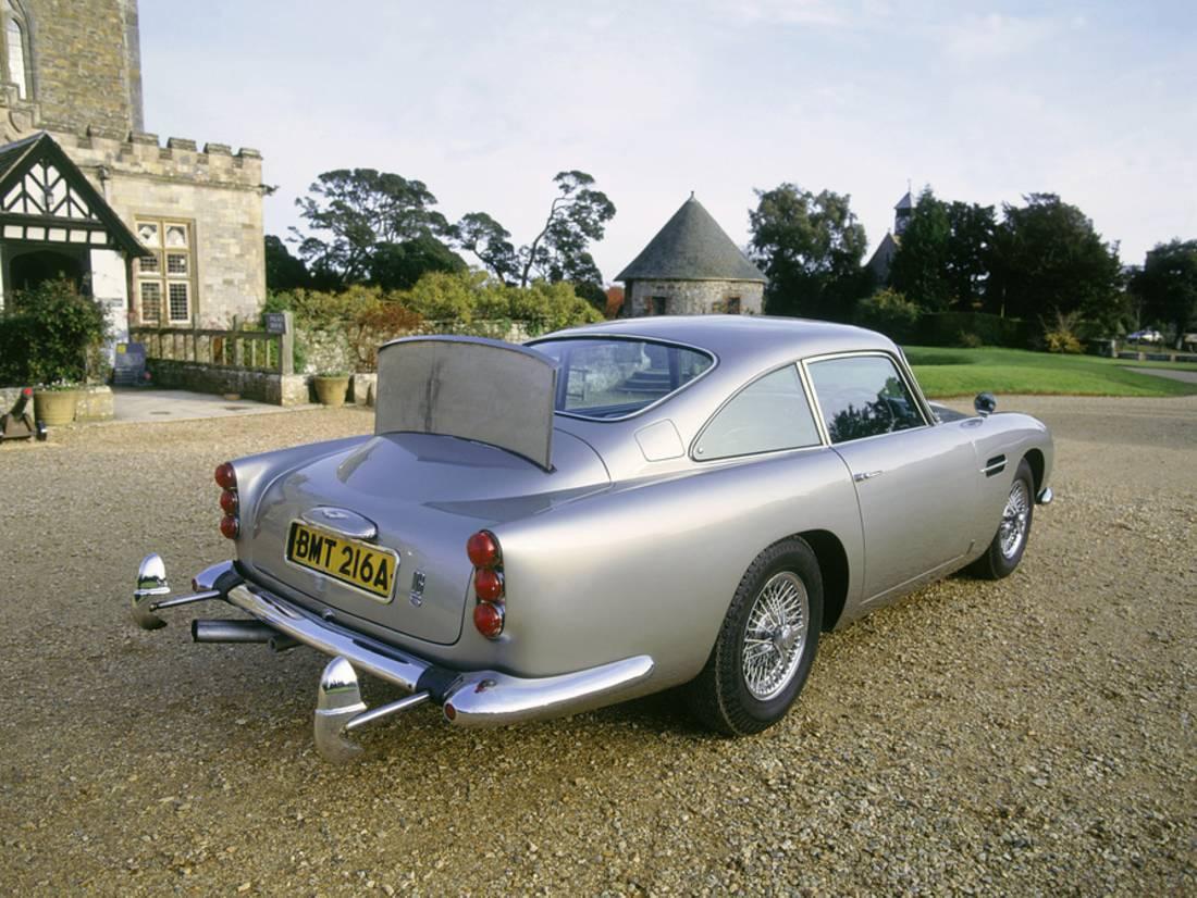 1965 aston martin db5, james bond 007 print wall art - walmart