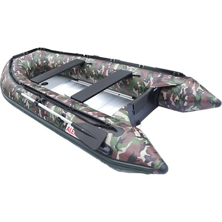 Aleko inflatable fishing boat 4 person 10 5 feet for 4 person fishing boat