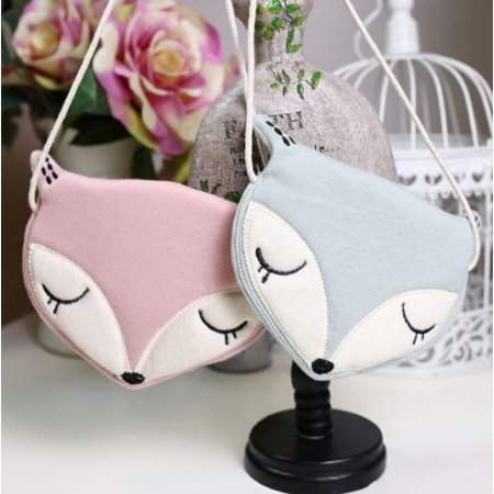 Baby Girls Shoulder Bags Fox Style Messenger Storage Bag Single Crossbody - Messenger Style Purse