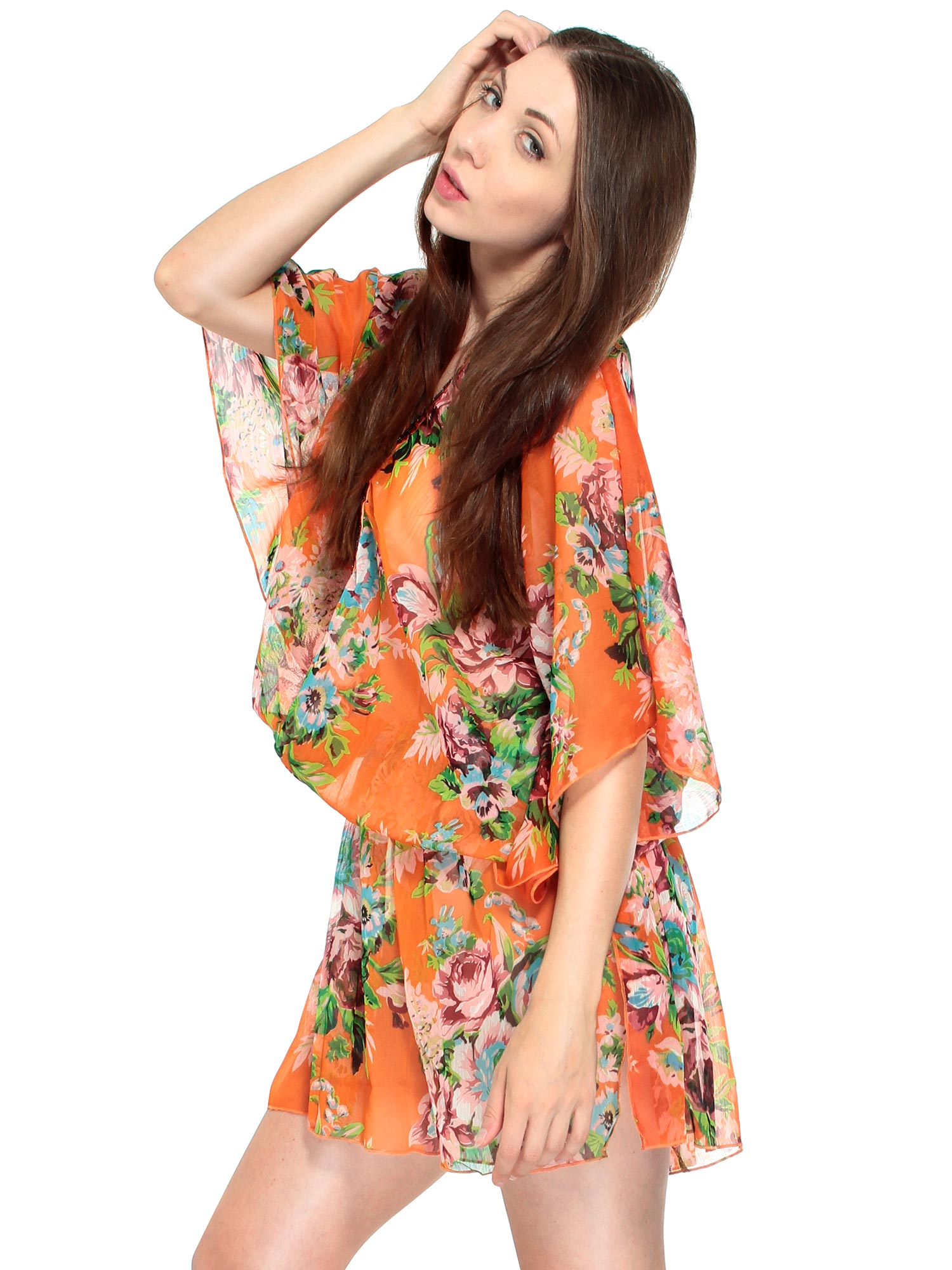 New Women Summer Boho Floral Print Beach Short Mini Dress Sundress Tank Tops