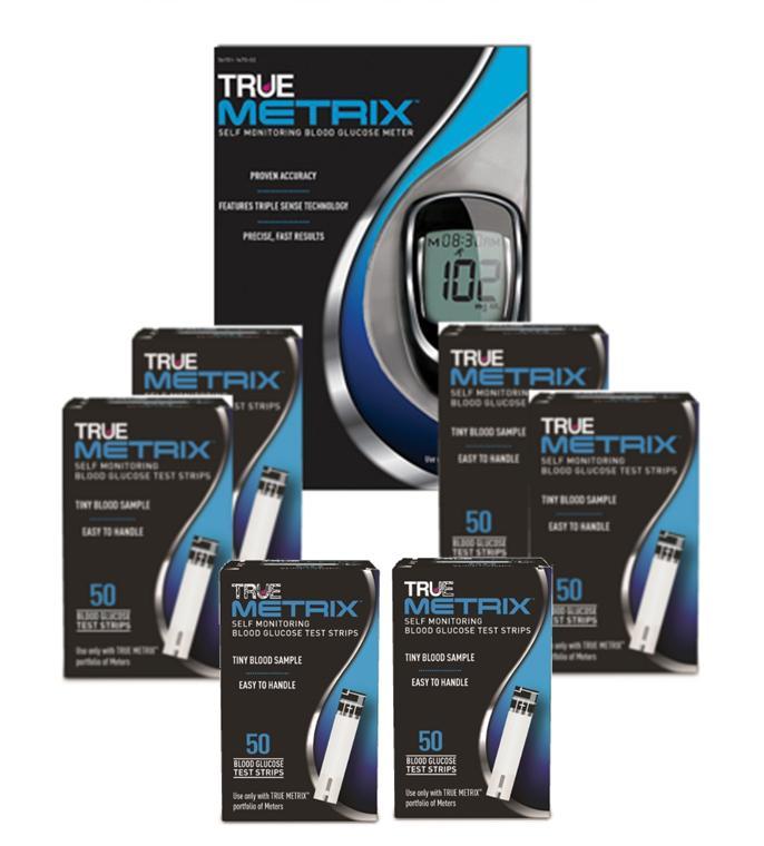 True Metrix Blood 300 Test Strips