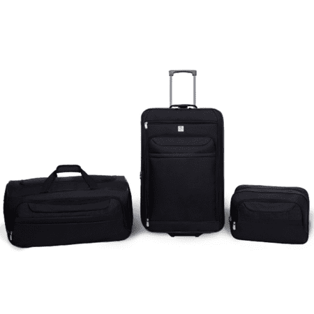 Protege 3 Piece Luggage Travel Set (Best 2 Piece Carry On Luggage Sets)