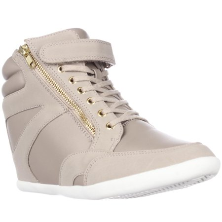 Womens T.S. Azar Wedge Fashion Sneakers - Taupe