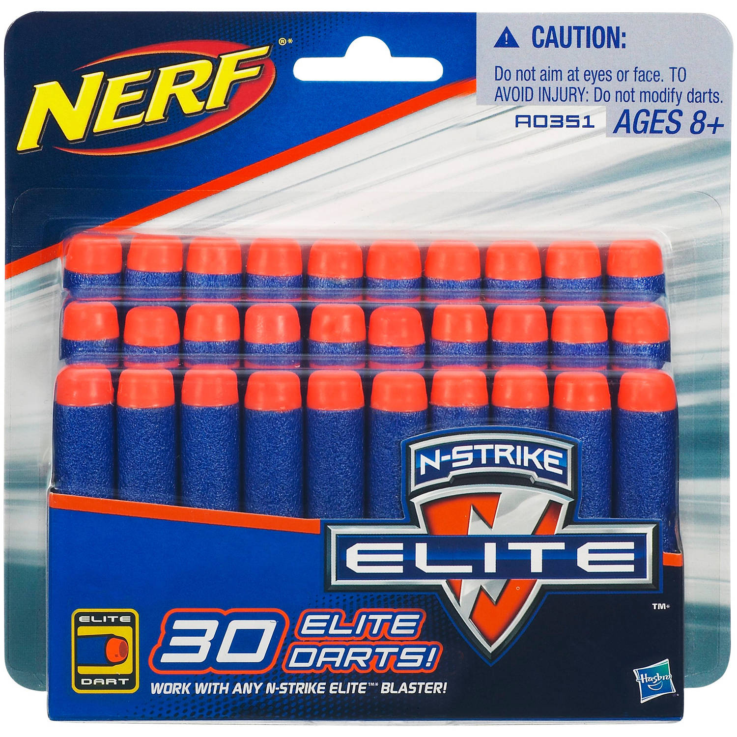 Official Nerf N-Strike Elite Series 30-Dart Refill