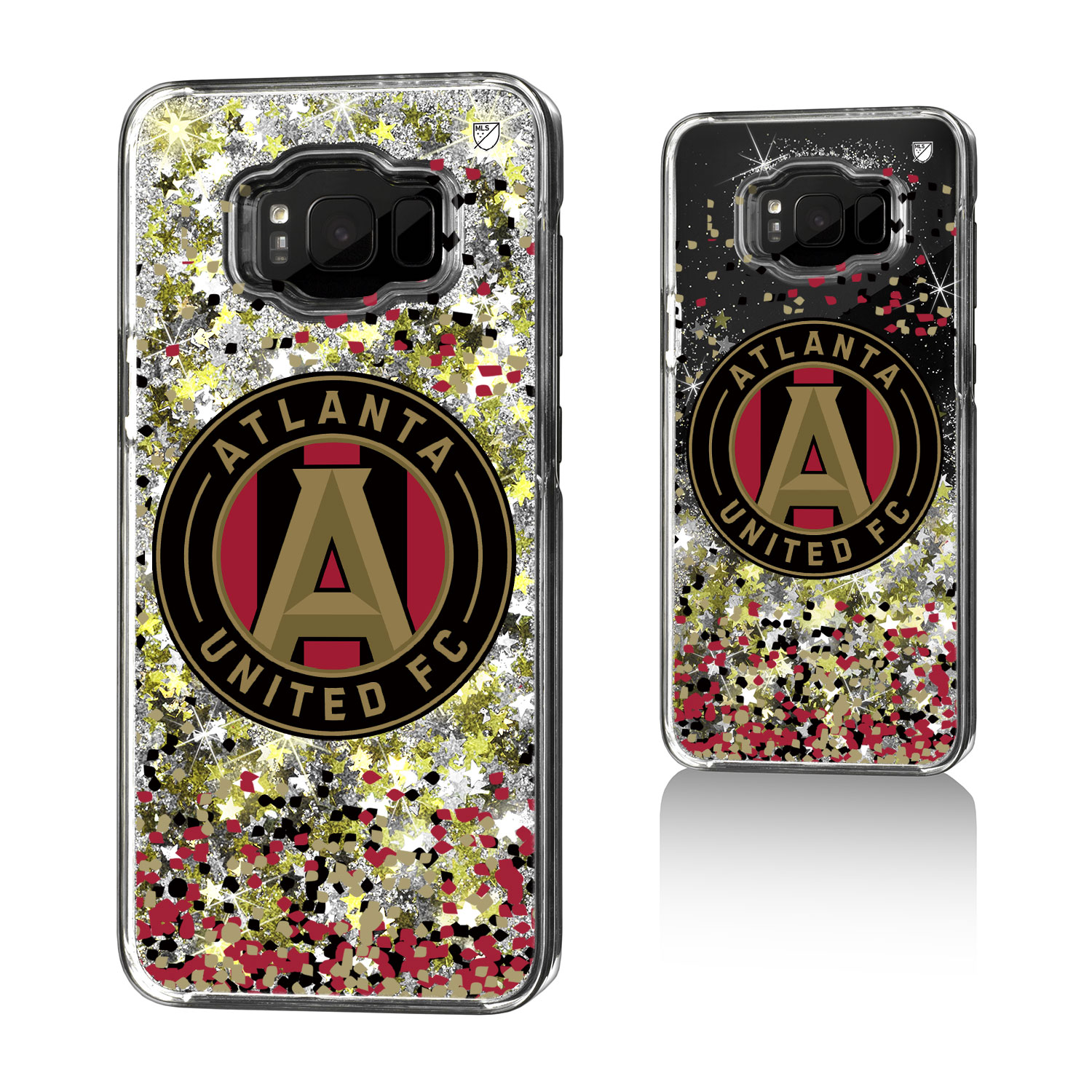 Atlanta United FC ATLUTD Confetti Glitter Case for Galaxy 8+