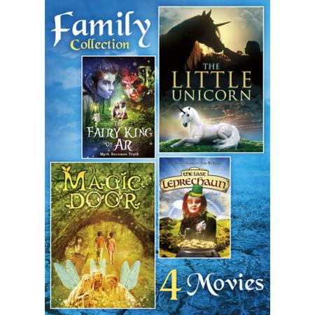 Family Collection: 4 Movies, Vol  2 - Fairy King Of Ar / The Little Unicorn  / Magic Door / The Last Leprechaun (Widescreen)