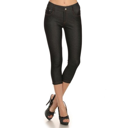Red Gelscrubs Pant - Belle Donne Women's Pants Capri Jeggings Cotton Blend Solid Colors-Black/M