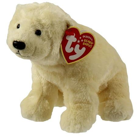 c28a7a029 TY Beanie Baby - GLACIER the Polar Bear (Seaworld Exclusive)(7 inch)