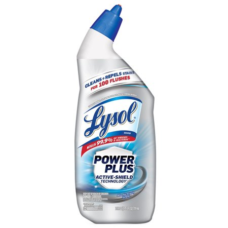 Lysol Toilet Bowl Cleaner, Power Plus, Atlantic Fresh, 24 oz