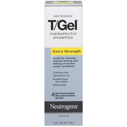 Neutrogena T/Gel Therapeutic Shampoo Extra Strength, 6.0 FL OZ