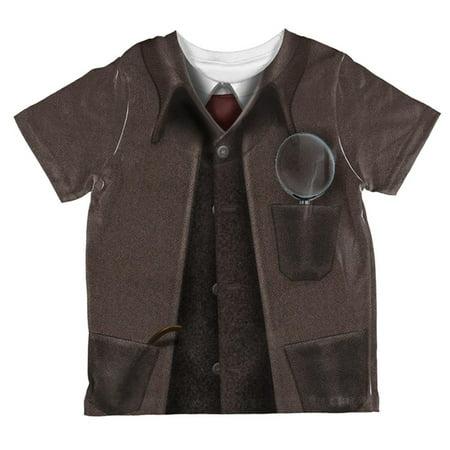 Halloween Sherlock (Halloween Sherlock Holmes Costume All Over Toddler T)