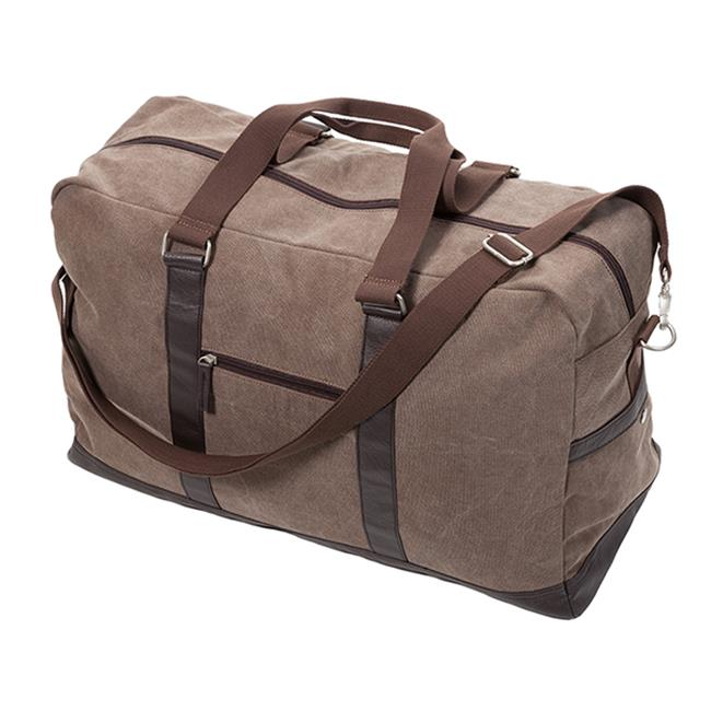 Occasionally Made Washed Canvas Large Duffel Bag, Chestnut Brown