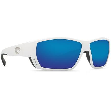 Costa Del Mar Tuna Alley White Square Sunglasses