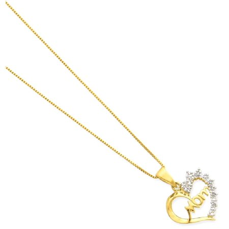 Sports Mom Charm - ICE CARATS 925 Sterling Silver Vermeil Diamond Mom Chain Necklace Pendant Charm Fine Jewelry Ideal Gifts For Women Gift Set From Heart