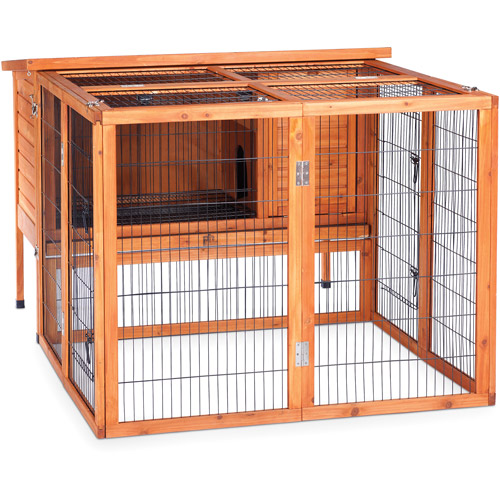 Prevue Pet Products Rabbit Playpen, Natural