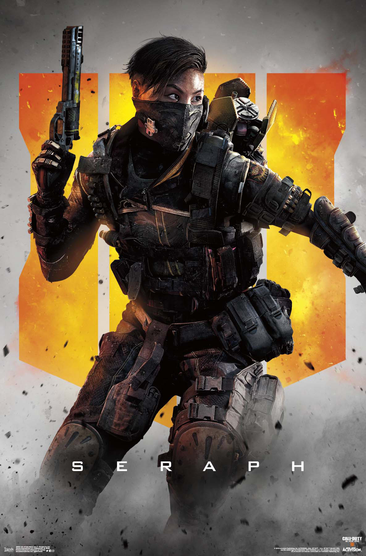 Call Of Duty Black Ops 4 Seraph Key Art Walmart Com Walmart Com