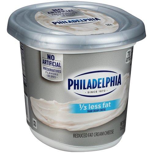 Kraft Philadelphia Reduced Fat Cream Cheese Spread, 16 oz
