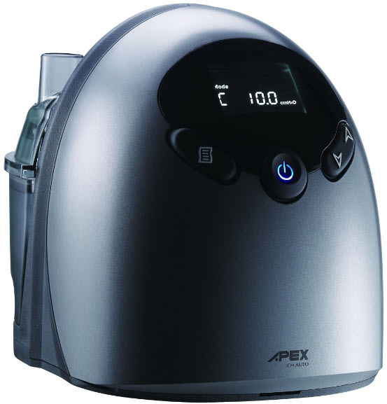 iCH II Auto CPAP Machine (SF07109) with Heated Humidifier by Apex Medical (Whisper Quiet!) - APAP Machine