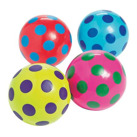 Polka Dot Vinyl Balls - Toys - Balls - Misc Balls - 12